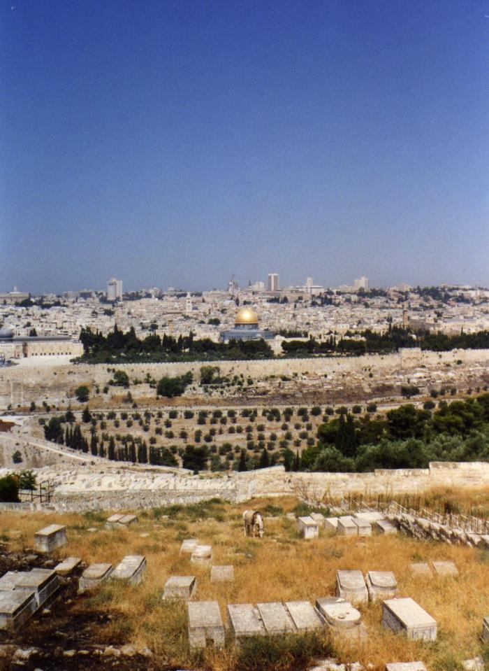 JerusalemViewMtOlives