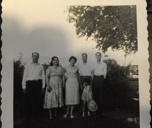 Palestinians forced to flee Palestine by Jewish terrorists in 1947 and 1948, settled in a Jordanian refugee camp nd were eventually brought to Chicago