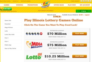 Online Illinois Lottery Board